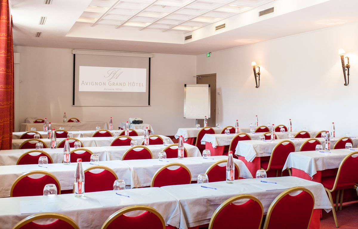 salle seminaire mistral avignon grand hotel