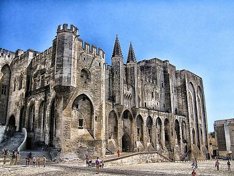 Tourisme Palais des Papes Avignon Grand Hotel